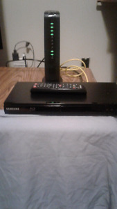 Samsung Blu ray player with Netflix and Youtube