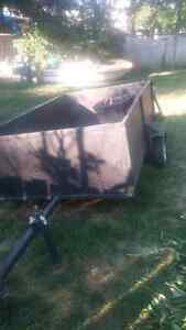 like new utility trailer holds up to 1500 pounds 4 feet by 8