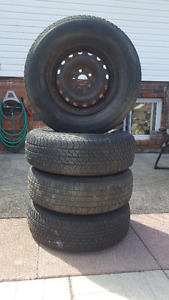 4 Tires and Rims for Sale! 215-75-14