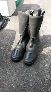 Motorcycle high boots
