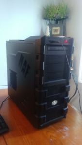 mint intel quad core gaming pc with EVGA FTW 4gig video card