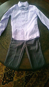 Boys size 8 shirt, tie and pants