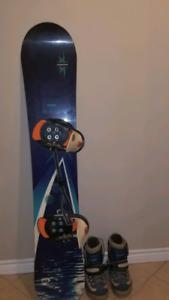 Rossignol/Burton Snowboard+Boots+Bindings