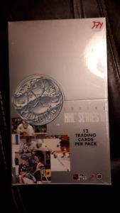 1991-92 Proset Platinum Hockey Card box - unopened series II