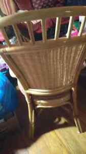 Rattan chairs and cushions Cambridge Kitchener Area image 2