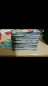 Lot of pokemon cards with box