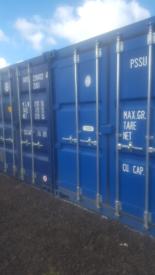 Self storage containers £100 pcm lock up garage lanarkshire