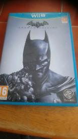 Wii U Batman Arkham Origins