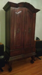 Solid teak wood cabinet