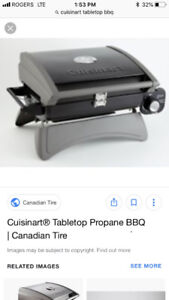 Brand new cuisinart tabletop bbq