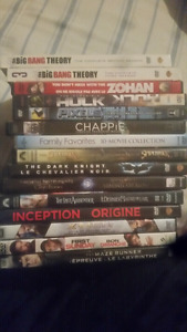 Various movies and TV shows
