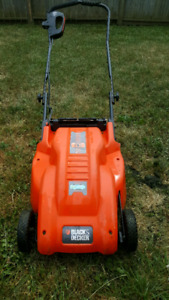 Black & Decker electric mower great condition!