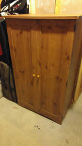 Old wood Computer Cabinet