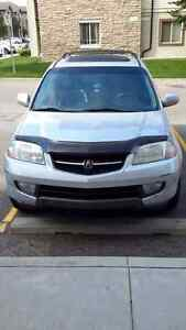 2002 Acura MDX  $3400 or best offer