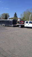 Truck and trailer hauling from Nova Scotia to BC