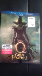 Oz the Great and Powerful Blu ray