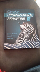 Canadian Organizational Behaviour  (9th Edition)