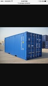 Looking To Rent Storage Container