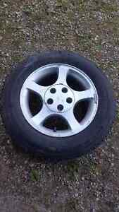Tires and rims fit Mustang  Kitchener / Waterloo Kitchener Area image 1