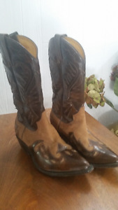 Real Leather/Suede Cowboy boots