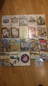 Assorted Wii games - Make a fair offer on any or all!