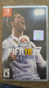 Fifa 18 Ninendo Switch game