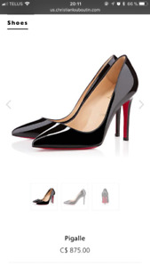 Chaussure Louboutin Pigalle 36-1/2