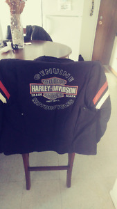 Manteau Harley Davidson et casque (bol)