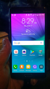 Samsung galaxy note 4 mint condition trade for smaller phone