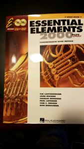 Essential Elements 2000 plus DVD- F HORN BOOK 1