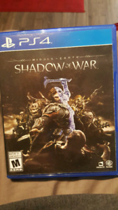 shadow of war ps4