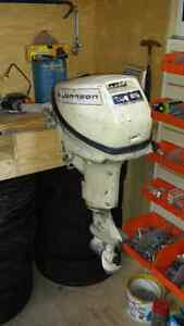 Johnson 9.5 hp outboard parts.