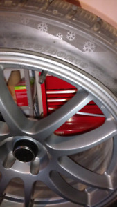 Ford rims and sport winter tires