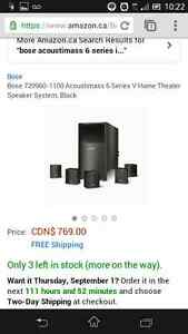 Bose acoustimass 6 series iii home theatre subwoofer
