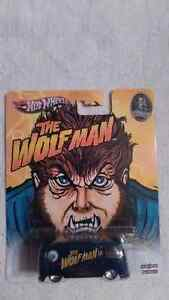 2012 HOT WHEELS 1:64 UNIVERSAL STUDIOS MONSTERS THE WOLFMAN.