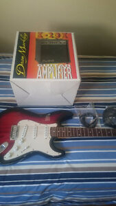 Guitar and AMP for 110$ Cambridge Kitchener Area image 1