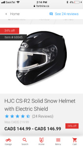 4 Skidoo Helmets like new , worn twice