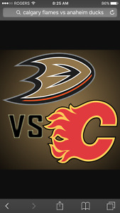Tickets to Calgary Flames va Anaheim Ducks on April 2
