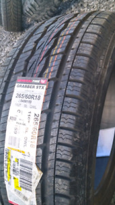 NEW 265/60/R18 GENERAL ALL SEASON TIRES