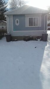 nice three bedroom trailer