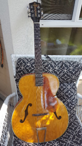 Early 50s Archtop Guitar SS Stewart