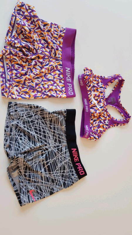 2719e91d0c1 Girls Nike Pro shorts (2) and crop top Small-Medium | in Sheffield, South  Yorkshire | Gumtree