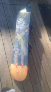 "Burton ""PUNCH"" Snowboard - 131 cm youth - Complete with Bindings"