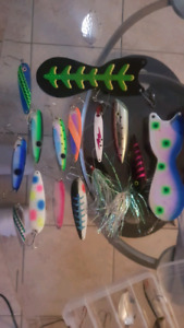 Downrigging lures for sale