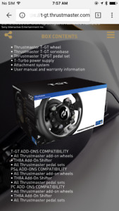Thrustmaster GT - PS4
