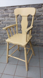 ANTIQUE BABY HIGHCHAIR DOLL CHAIR