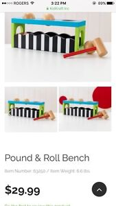 KidKraft Pound &Roll Bench - NEW in BOX Kitchener / Waterloo Kitchener Area image 2