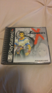 Xenogears Original PS1 PlayStation RPG, mint condition!