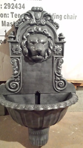 Decoration Vase Fountain Lampe Mask Table