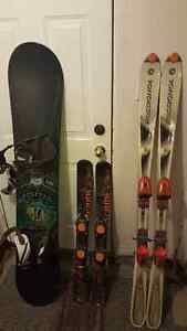 Ski, Snowboard, Boots for sale